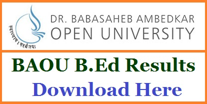 BAOU Bed Entrance Exam Result 2018