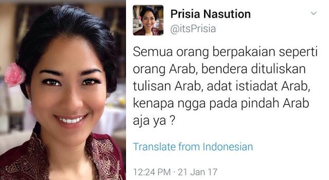 Surat Untuk Prisia Nasution Dari Perawat Indonesia Yang Kerja Di Saudi Ini Jadi Viral