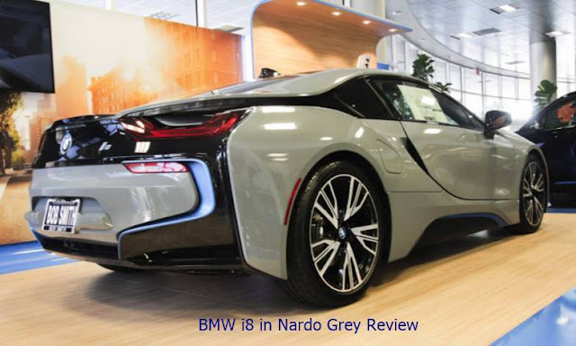 BMW i8 in Nardo Grey Review