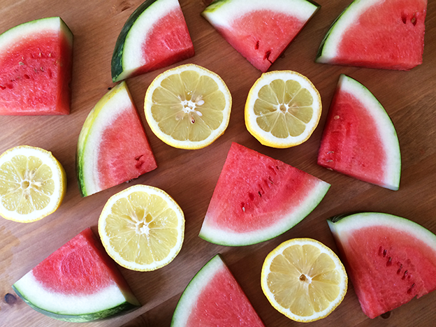 benefits of watermelon and lemon juice