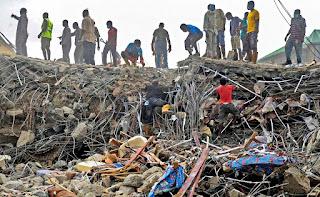 The disastrous earthquake