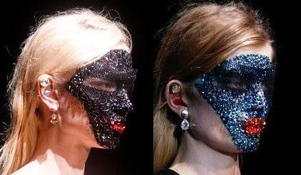 Givenchy Fall 2014 Masks