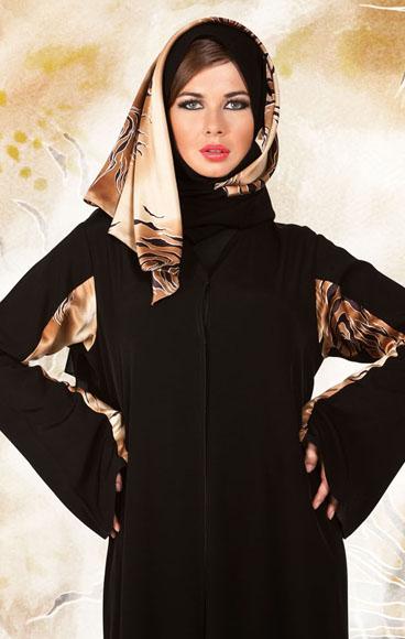 Emoo Fashion Cute Saudi Abaya Designs For Muslim Girls 2012