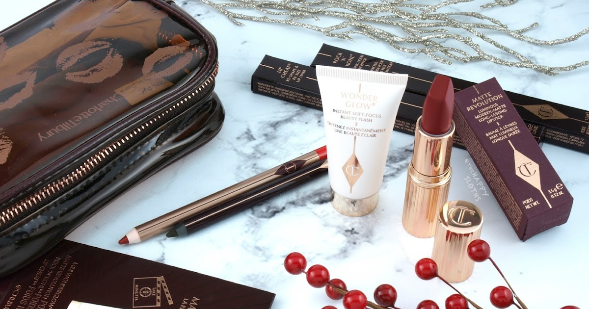 Holiday Makeup Look Charlotte Tilbury Quick N Easy Red