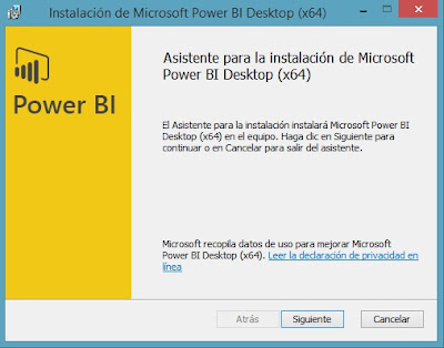 Instalación de Power BI