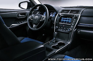 2016 Toyota Camry SE Special Edition Review Interior