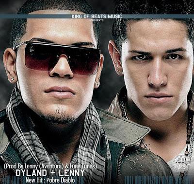 Foto de Dyland y Lenny en portada