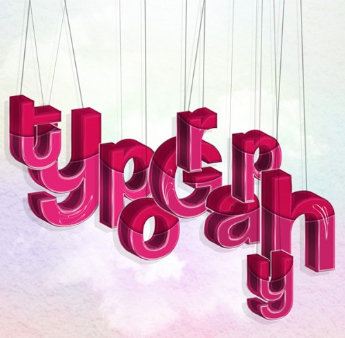 How to Create Hanging Typography