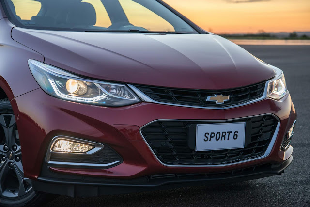 Chevrolet Cruze Hatch 2017 - frente - design