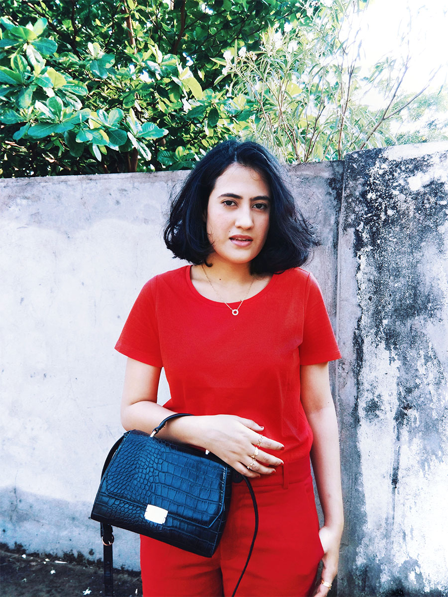 RED MONOCHROME SUMMER OUTFIT , thestylepanorama, all red look, fashion blogger