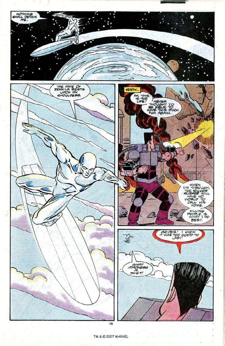 Read online Silver Surfer (1987) comic -  Issue #21 - 21