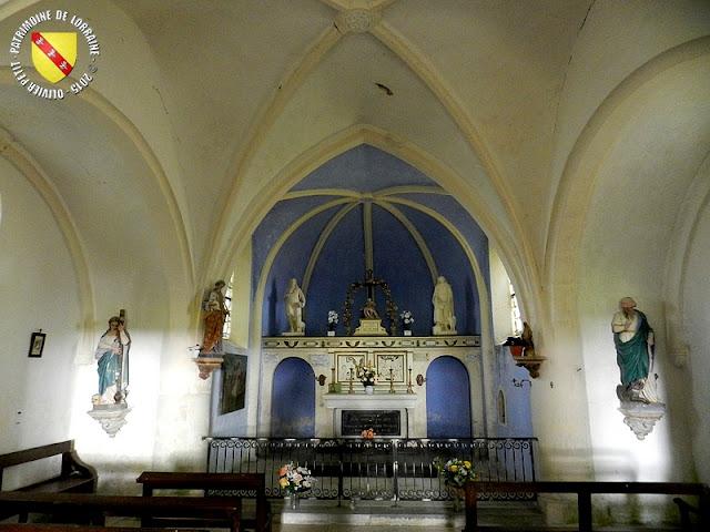 DAINVILLE-BERTHELEVILLE (55) - Chapelle de Chécourt (XVIe siècle)