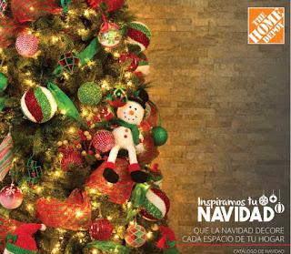 Catalogo The Home Depot 2017  : Navidad 2017