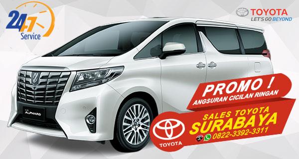 Promo Angsuran Cicilan Ringan Toyota Alphard Surabaya