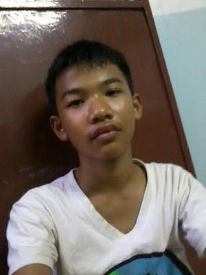 dark-skinned thai boy