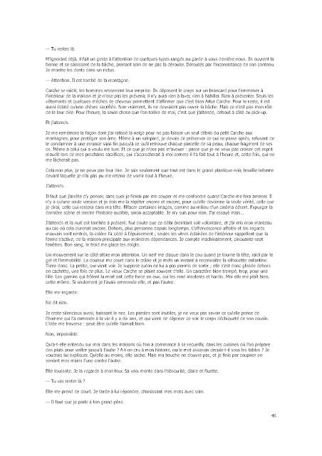 Roman: Six fourmis blanches de Sandrine Collette PDF Gratuit
