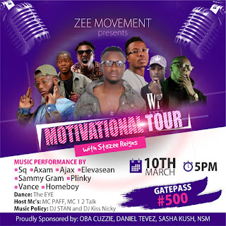 MOTIVATIONAL TOUR (EVENT) with Stayee Reignz in Kano. EP/Album LagosDream
