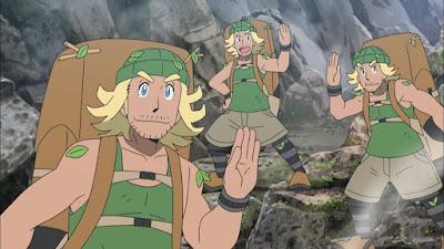 Pokemon Sol y Luna Capitulo 95 Temporada 20 Volcán de Wela, el Graveler, el Golem y el Montañero