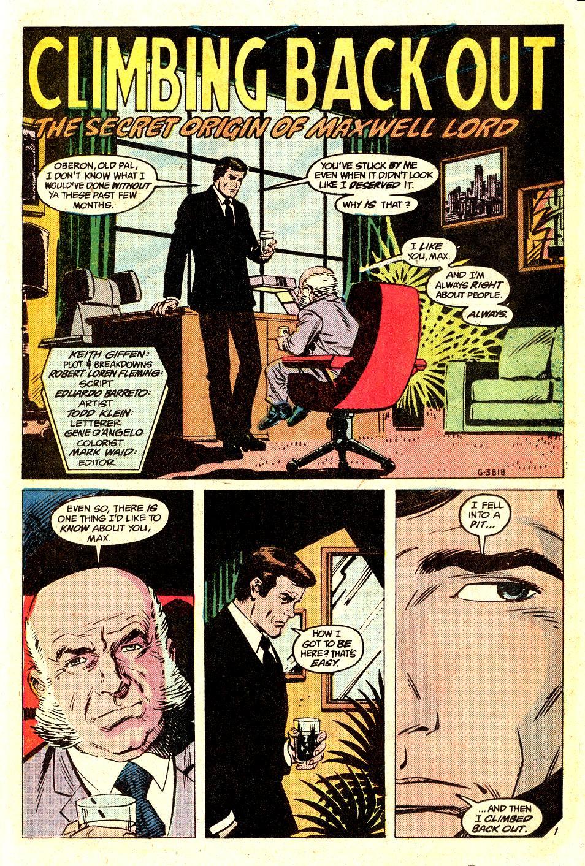 Read online Secret Origins (1986) comic -  Issue #35 - 37