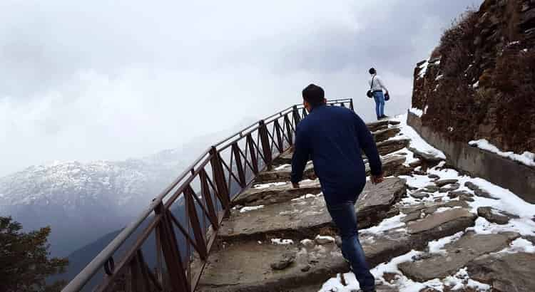Trek to Chandrashila from Tungnath Temple