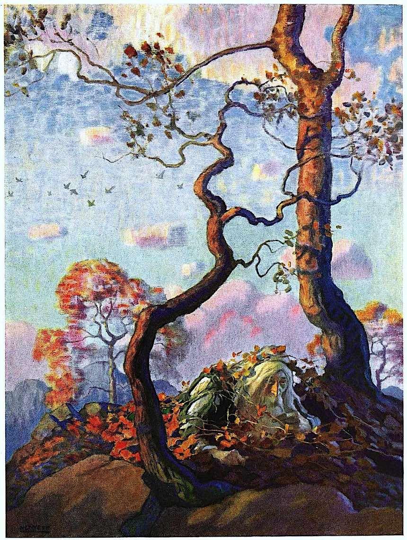 NC Wyeth, Rip van Winkle, Rip van Winkel