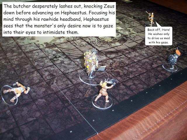 Kingdom Death Monster Butcher Showdown