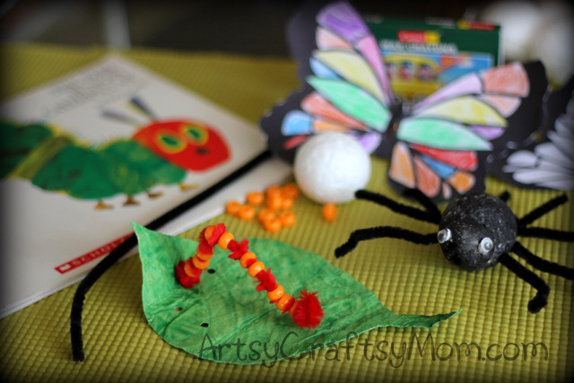 Hungry Caterpillar Crafts Its A Bugs Life on Bug Insect Activities