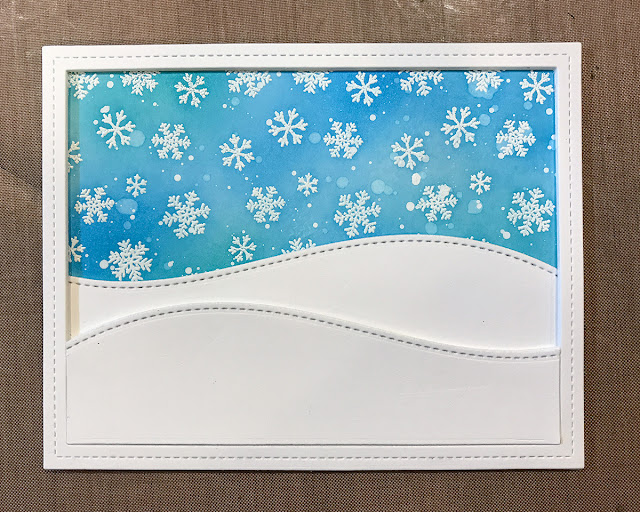Sunny Studio Stamps: Playful Polar Bears Shaker Card Tutorial with Juliana Michaels