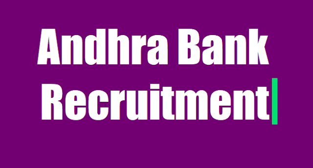 Andhra Bank,Sub Staff Posts Recruitment 2017,Apply before May 24