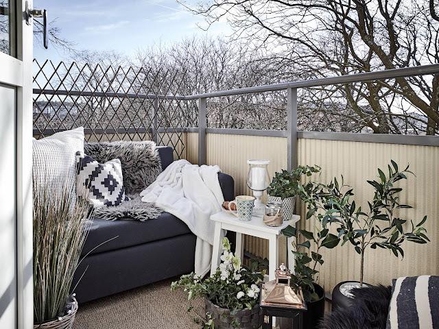 balkon, jak urządzić balkon, jak tanio odmienić balkon,