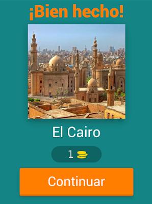 Juego Trivial Geografía - capitales del mundo
