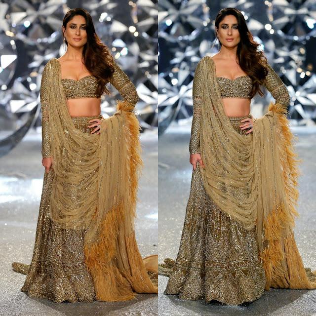 Kareena Kapoor in Falguni Shane Peacock