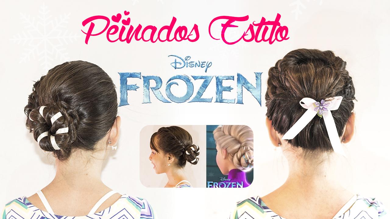 Peinado De Elsa Y Anna Frozen Hilary Nascya