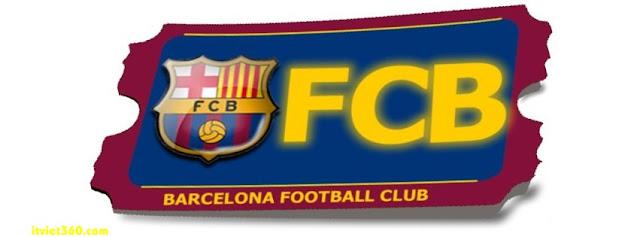 Ảnh bìa Facebook bóng đá - Cover FB Football timeline, Barcalona FCB