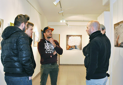 Exposition de l'artiste Ben Heine au Centre Culturel des Roches de Rochefort 2016