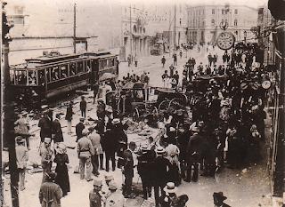 Attack against Serbs, Sarajevo, 1914