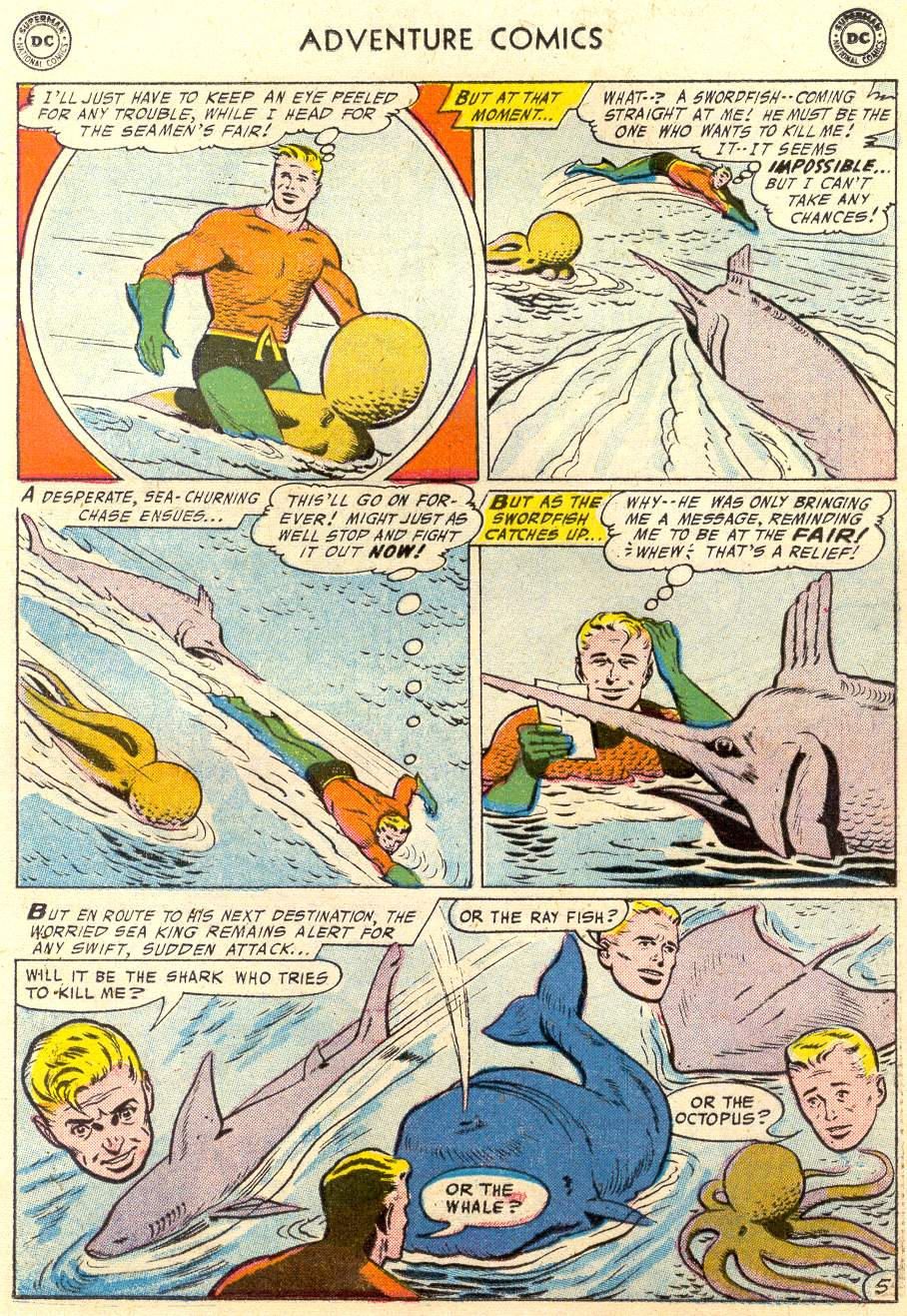 Read online Adventure Comics (1938) comic -  Issue #231 - 22