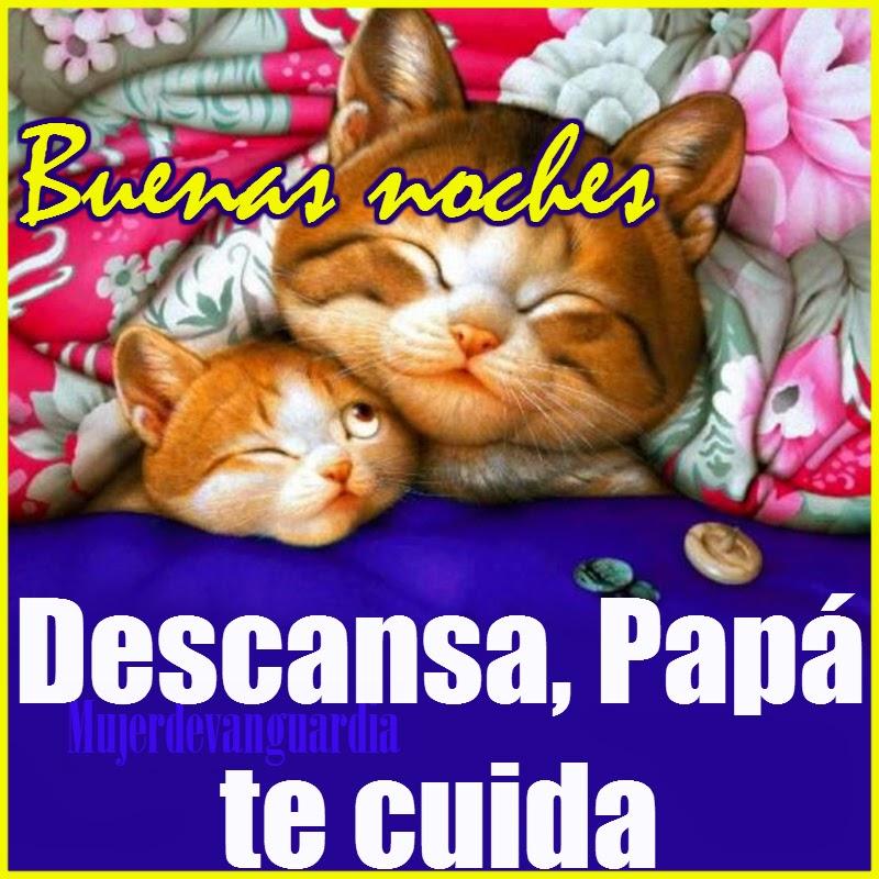Buenas noches, descansa, Papá te cuida