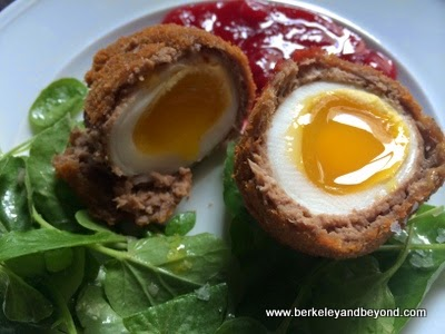 Duck Duck Scotch Egg at The Cavalier restaurant in San Francisco
