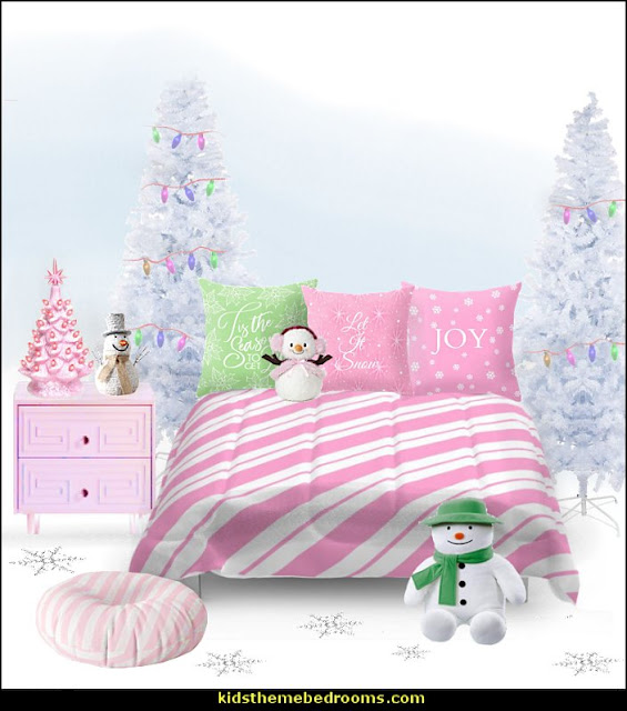 pink candy christmas bedroom decorating   candy Christmas theme decorating - candy themed christmas decorations - christmas candyland decorations -  candy ornaments -  candy shaped holiday ornaments - candy themed Christmas decor -   lollipop candy swirls Throw Pillows - Candy Christmas Tree  - candy stripe Chritmas decor - Candy Cupcake Ornaments