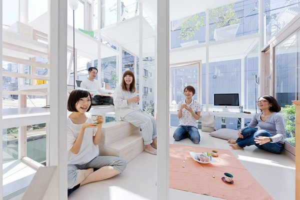 modern house transparent house design-3