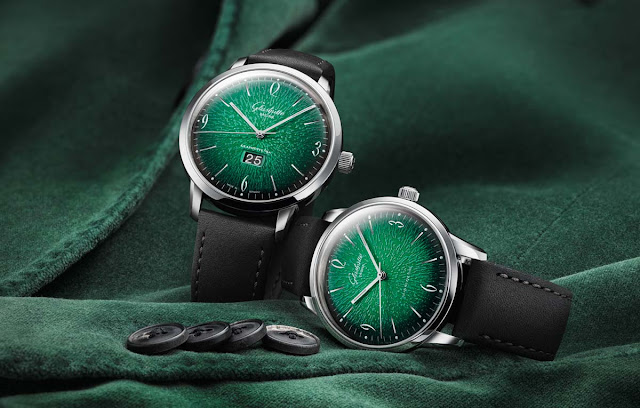 Glashütte Original Sixties and Sixties Panorama Date, the new models launched at Baselworld 2018