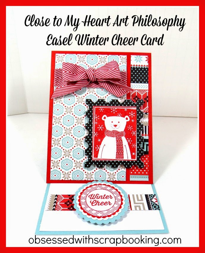 Obsessed With Scrapbooking: [Video]Winter Cheer Art