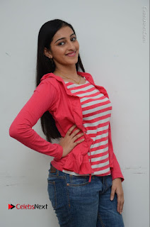 Telugu Actress Mouryani Latest Pos in Blue Denim Jeans  0037.JPG