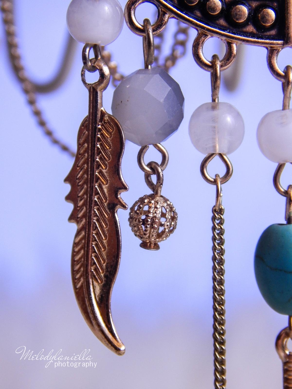 10 Biżuteria z chińskich sklepów sammydress kolczyk nausznica naszyjnik wisiorki z kryształkiem świąteczna biżuteria ciekawe dodatki stylowe zegarki pióra choker chokery złoty srebrny złoto srebro obelisk