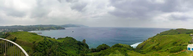 Panoramic view from Lighthouse in Naidi Hills