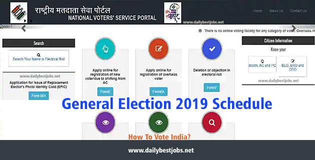 How To Vote India, Indian Election 2019 Voting Polling Booth Process