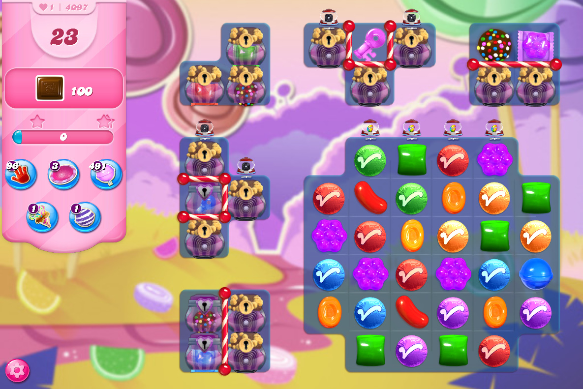 Candy Crush Saga level 4097