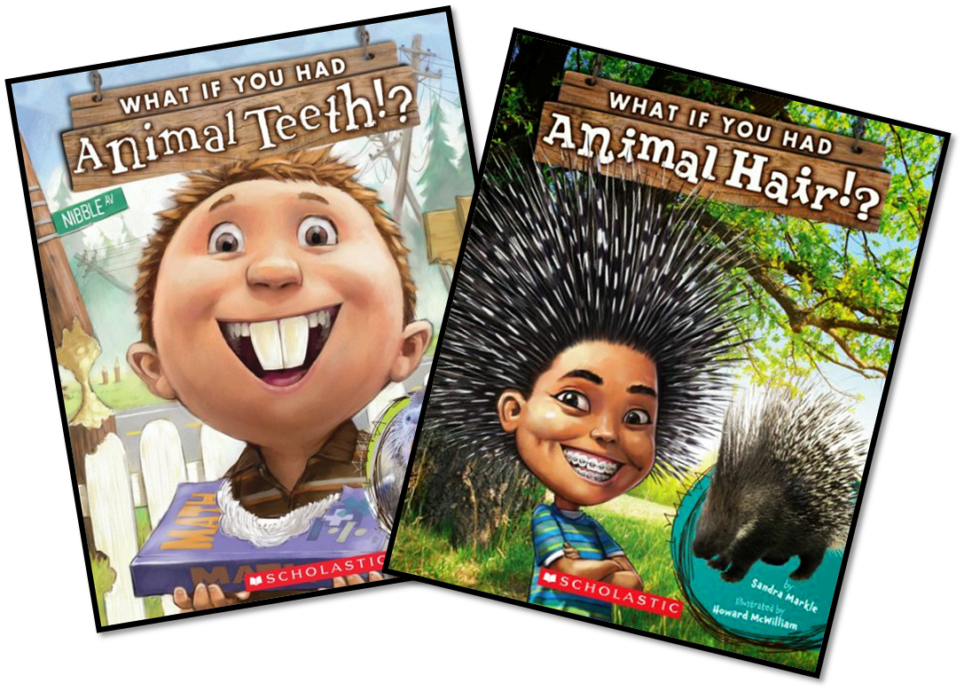 First Grade Fairytales What If You Had Animal Teeth Hair