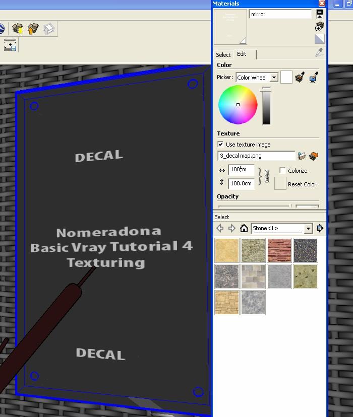 Nomeradona SketchUp VR: Basic VRAY SketchUp Tutorial Series 4